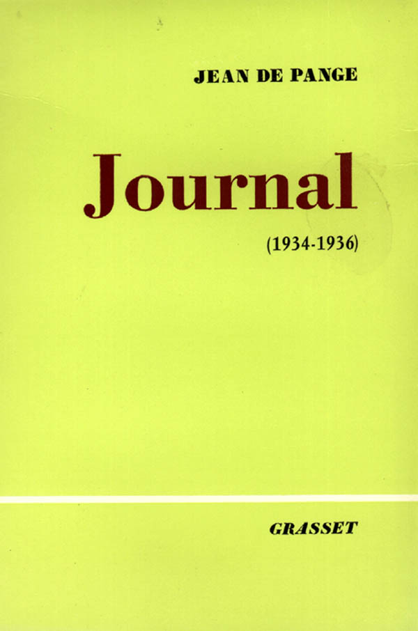 Journal, Tome 3 : 1934-1936