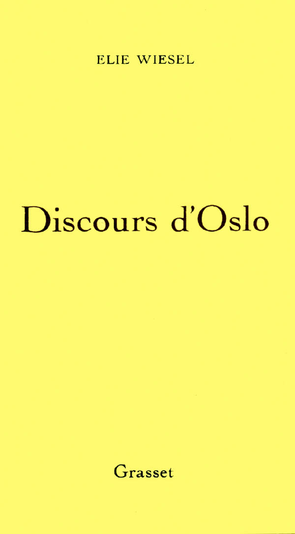 Discours d'Oslo