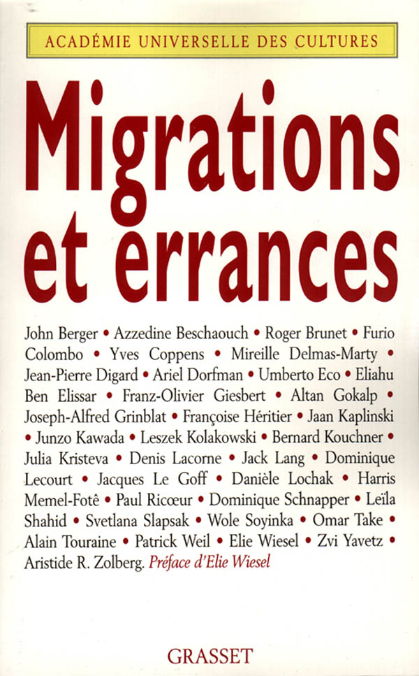 Migrations et errances