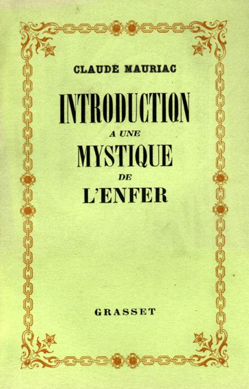 Introduction à une mystique de l'enfer