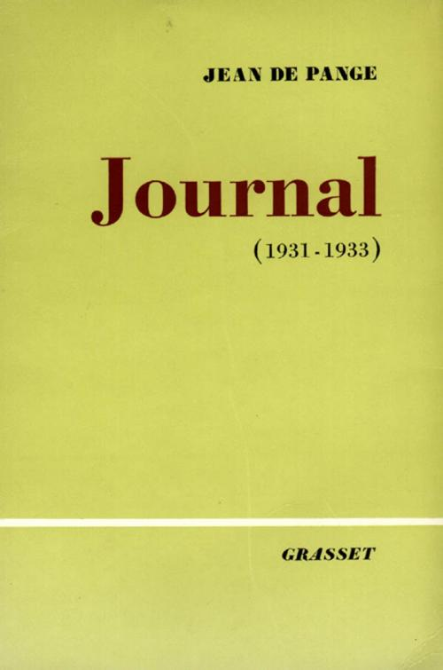 Journal, Tome 2 : 1931-1933