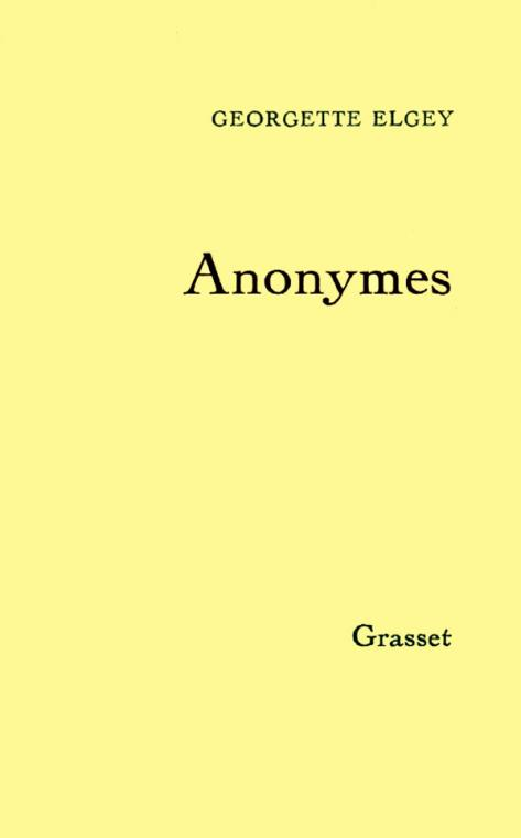 Anonymes