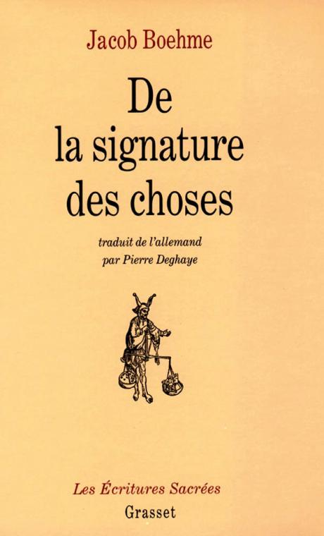 De la signature des choses