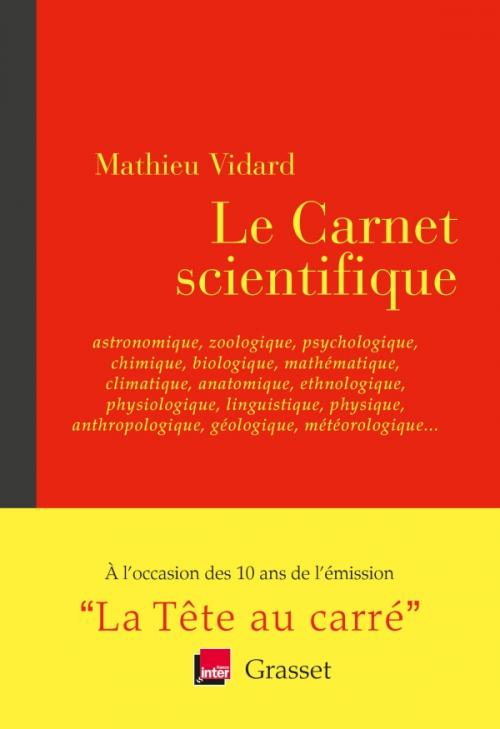 Le Carnet scientifique
